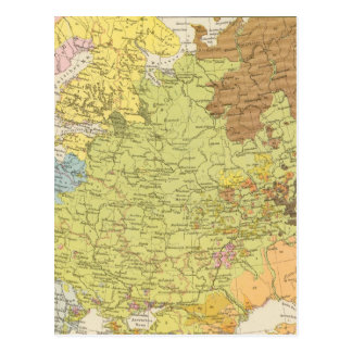 Volkerkarte von Russland - Karte von Russland