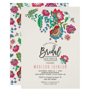 Volkseinladung der Blumen-| des Brautparty-| 12,7 X 17,8 Cm Einladungskarte
