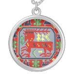 Volkskunst-Ren Sami Sapmi nordisches Halsketten-Ge