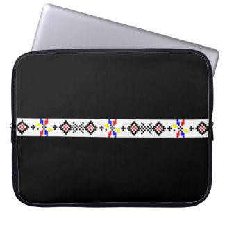 Volkssymbolland ländliches r des rumänischen laptop schutzhüllen