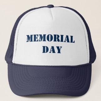 VOLKSTRAUERTAG MemorialDAY Denkmal+Tag Truckerkappe