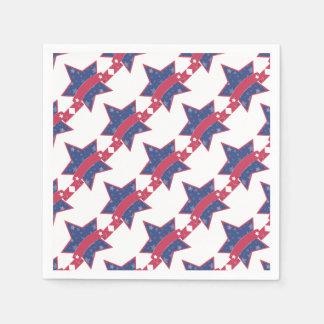 Volkstrauertag - Stern Papierservietten