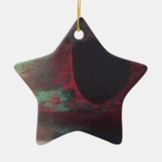 Voll von der Farbe in einer hellen Welt Keramik Ornament