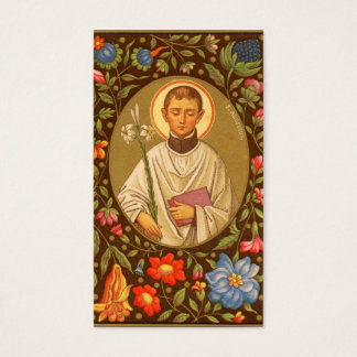Volle Blutung St. Aloysius Gonzaga (P.M. 01) Visitenkarte