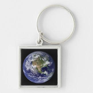 Volle Erde, die Nordamerika 3 zeigt Schlüsselanhänger