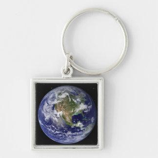 Volle Erde, die Nordamerika 4 zeigt Schlüsselanhänger
