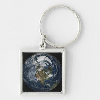 Volle Erde, die Nordamerika 5 zeigt Schlüsselanhänger
