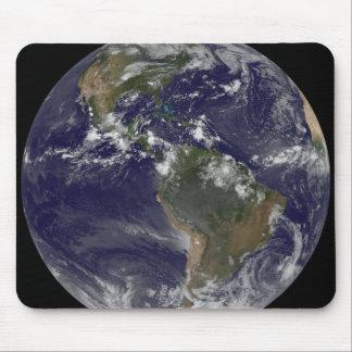 Volle Erde, die Nordamerika und SüdAmer 2 zeigt Mousepad