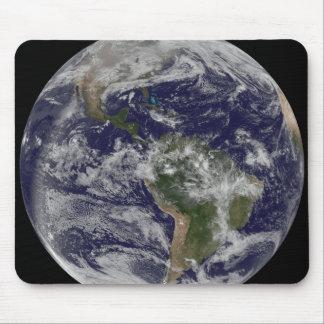 Volle Erde, die Nordamerika und SüdAmer 4 zeigt Mousepad