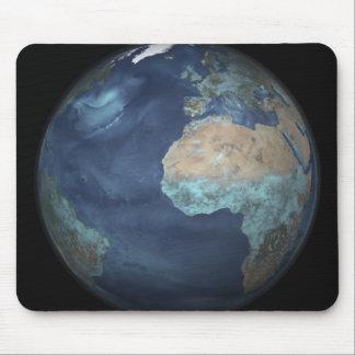 Volle Erde, die Verdampfung zeigt Mousepad