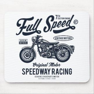 Volle Geschwindigkeits-Speedway-Laufen Mousepad
