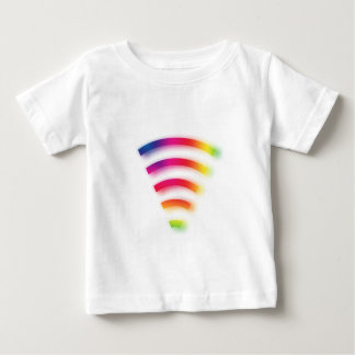 Volle Stärke WIFI Baby T-shirt