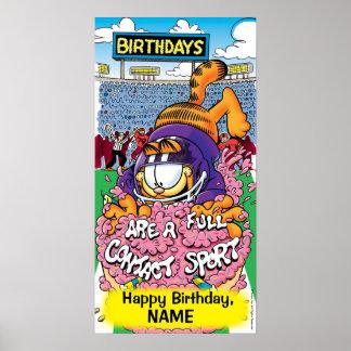 Voller Kontakt-Sport- Garfield-Geburtstag