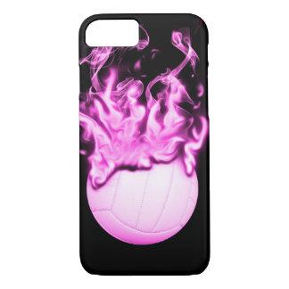 Volleyball auf Feuer iPhone 8/7 Hülle