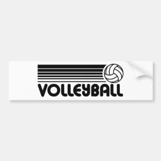 Volleyball Autoaufkleber