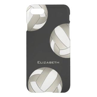Volleyball des Platins und der weißen Frauen iPhone 8/7 Hülle