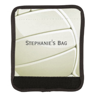 Volleyball-Entwurfs-Gepäck-Griff-Verpackung Gepäckgriff Marker