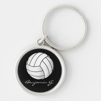 Volleyball-Fan Schlüsselanhänger
