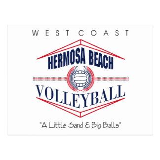 Volleyball-Geschenk Postkarte