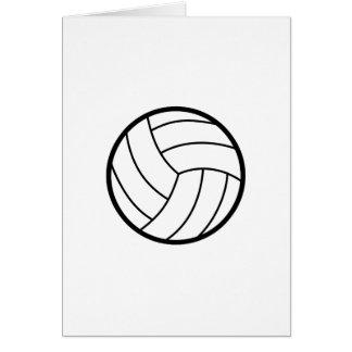 Volleyball Grußkarte