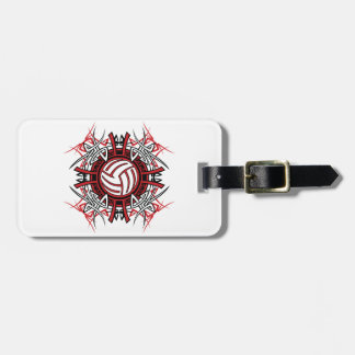 Volleyball-Kunst-Gepäckanhänger Kofferanhänger