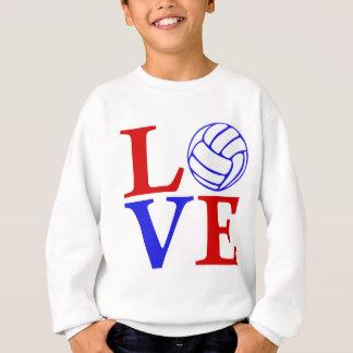 Volleyball LIEBE, USA2 Sweatshirt