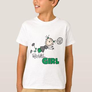 Volleyball-Mädchen-T-Shirts und Geschenke T-Shirt