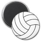 Volleyball-Magnet Runder Magnet 5,7 Cm
