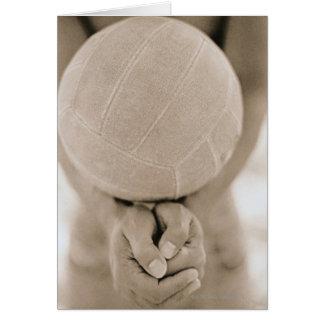 Volleyball-Nahaufnahme Karte