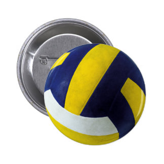 VOLLEYBALL RUNDER BUTTON 5,1 CM