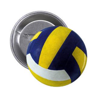 VOLLEYBALL RUNDER BUTTON 5,1 CM