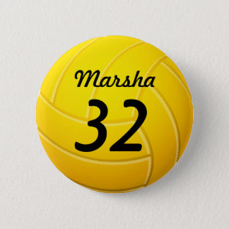 Volleyball Runder Button 5,7 Cm