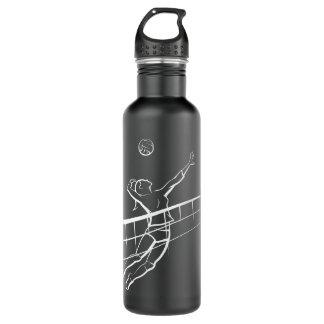 Volleyball-Spitze mit flüssigem Netz Trinkflasche
