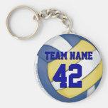 Volleyball-Team Schlüsselanhänger