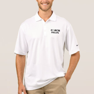 Volleyball-Trainer - personalisiert Polo Shirt