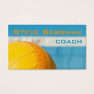 Volleyball-Trainer-Spieler-Trainer-Team-Spiel Visitenkarte