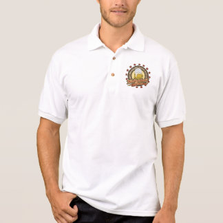 Volleyball-trinkendes Team Polo Shirt