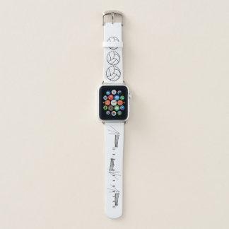 Volleyball und Netz Apple Watch Armband