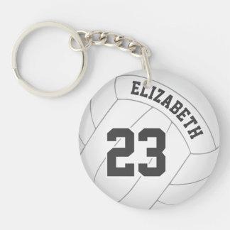 Volleyballspieler-Teamnamen-Rucksackumbau der Schlüsselanhänger
