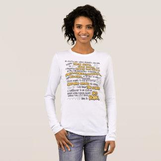 VolleyballThrowdown, gelb Langarm T-Shirt