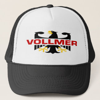 Vollmer Familienname Truckerkappe