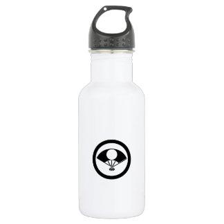 Vollmond auf Fan im Kreis Trinkflasche