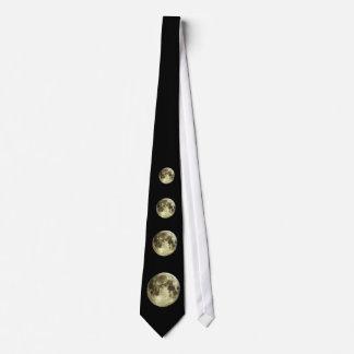 Vollmond-Bindung Krawatte