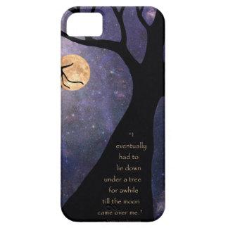 Vollmond-bloße Bäume iPhone 5 Case