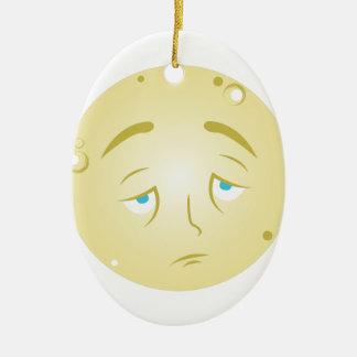 Vollmond Keramik Ornament