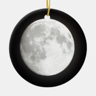 Vollmond Keramik Ornament