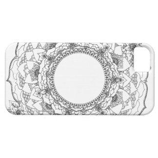 Vollmond-Mandala iPhone 5 Hülle