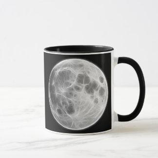 Vollmond-Mondplaneten-Kugel Tasse