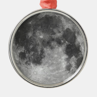 Vollmond Silbernes Ornament
