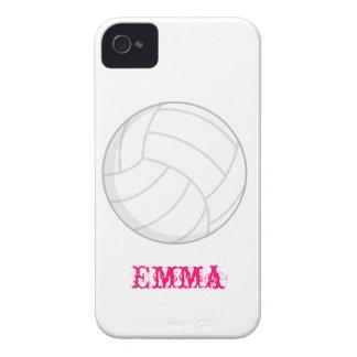 VollyBall Iphone 4 Hüllenen-Girly Geschenk-Idee iPhone 4 Case-Mate Hüllen